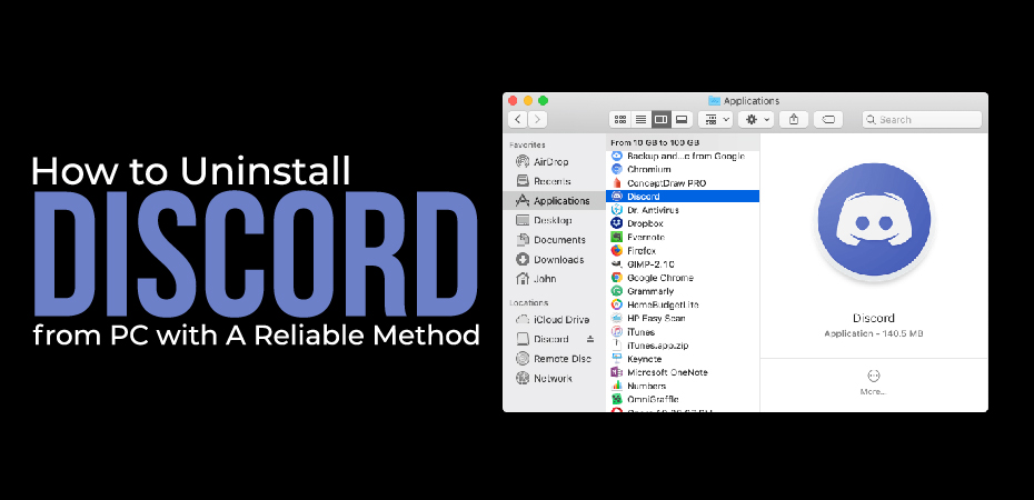 How to Uninstall Discord from PC with A Reliable Method